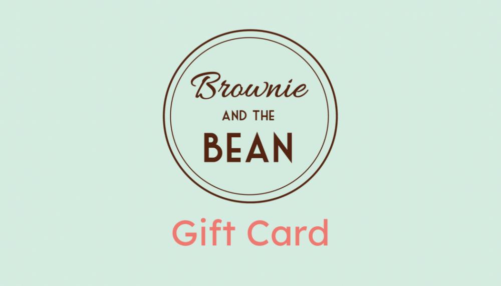 Brownie Gift Card