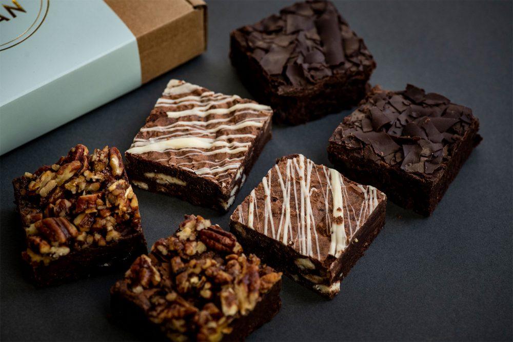 Brownie box of 6 image