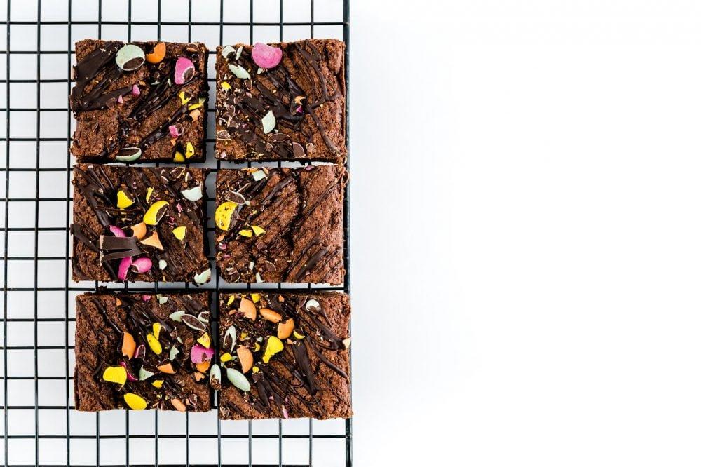 Vegan (without gluten) Brownie Box